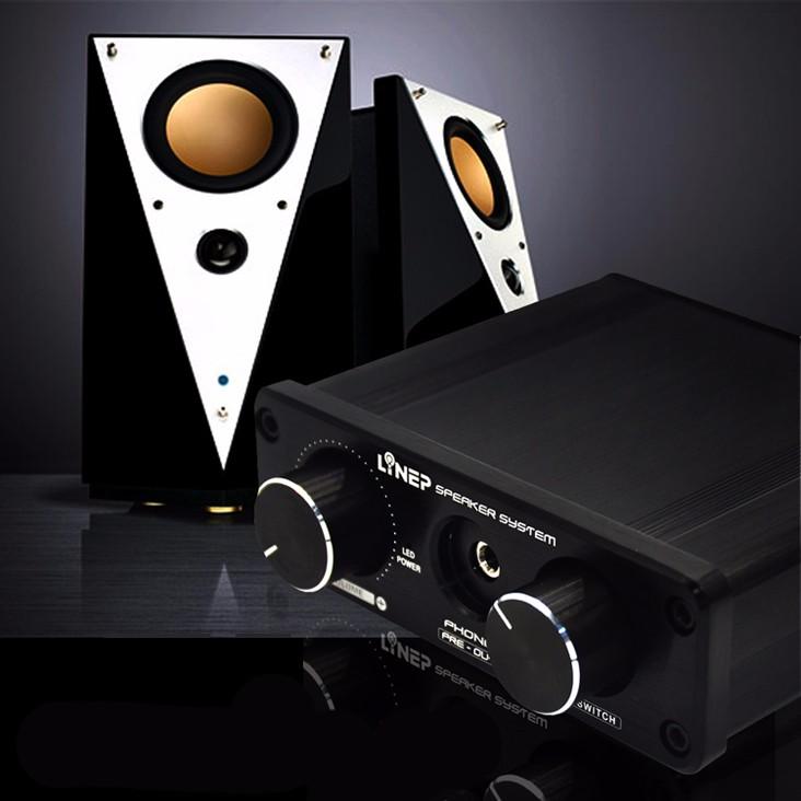 2016 Brand New A926  4-In 2-Out  Mini Audio Switcher Hifi Digital Audio Headphone Amplifier Sound Processor Preamp MP3 Switcher