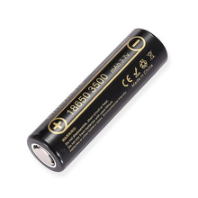 1PCS 100% Original LiitoKala Lii 35A 3.7V 3500mAh NCR18650GA 10A การคายประจุแบตเตอรี่