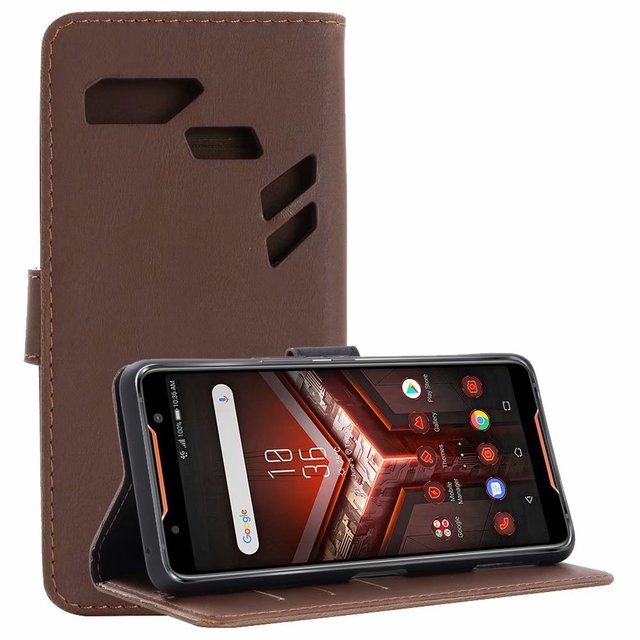 new product 1a010 46ff0 US $6.6 |1pcs/lot For ASUS ROG Phone Leather Case Retro Crazy Horse Wallet  Leather Case With Stand For ASUS ROG Phone-in Wallet Cases from Cellphones  ...