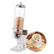 ITOP 4L Stainless Steel Base Triple Head Grain Dispenser Dry Food Dispenser for Ice Cream / Dessert Food Storage Box