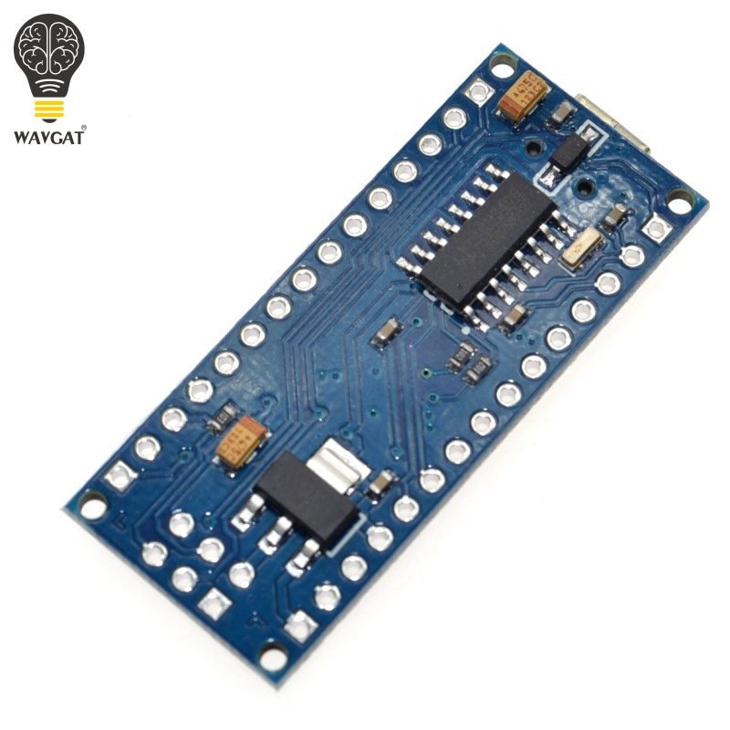 Image 3 - 10PCS Promotion Funduino Nano 3.0 Atmega328 Controller Compatible Board for WAVGAT Module PCB Development Board without USB-in Integrated Circuits from Electronic Components & Supplies