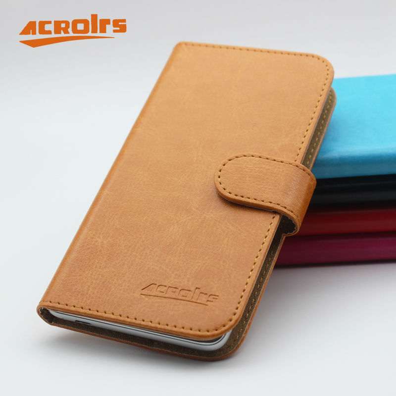 Hot! Fly IQ4505 Case New Arrival 6 Colors Luxury Fashion Flip Leather Protective Cover For Fly IQ4505 ERA Life 7 Quad Case