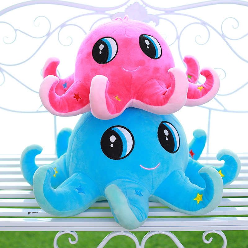 23cm Ocean Octopus Cute Cartoon Stuffed Animals Girl Kids Toys Birthday Gift Plush Toys for Children Girls Doll cute bulbasaur plush toys baby kawaii genius soft stuffed animals doll for kids hot anime character toys children birthday gift