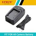 Multi-función de lvsun dmw-bcn10 bcn10 dmw-bcn10e cargador de batería de coche con puerto usb para canon panasonic lumix dmc-lf1 lumix lf1