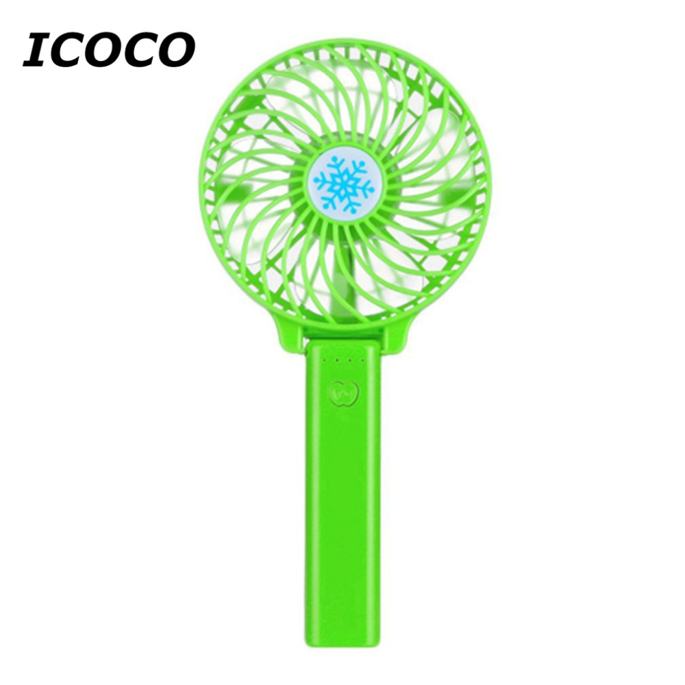 Mini usb hand fan cooling portable fan led light air conditioner cooler adjustable speed heat rechargeable battery fans 3 files mini usb hand fan cooling for home outdoor portable fan air conditioner cooler fans with 1200ma rechargeable battery