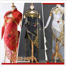 Hot Role Vocaloid Hatsune Miku Megurine Luka Chinese Luo Tianyi Canary Bird  Ver Cosplay Costume S-L 1d014330b2aa