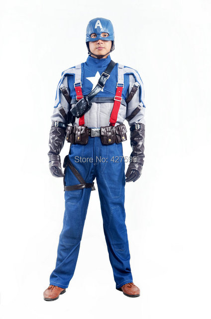 Captain America: The First Avenger Cosplay Costume Halloween Costumes