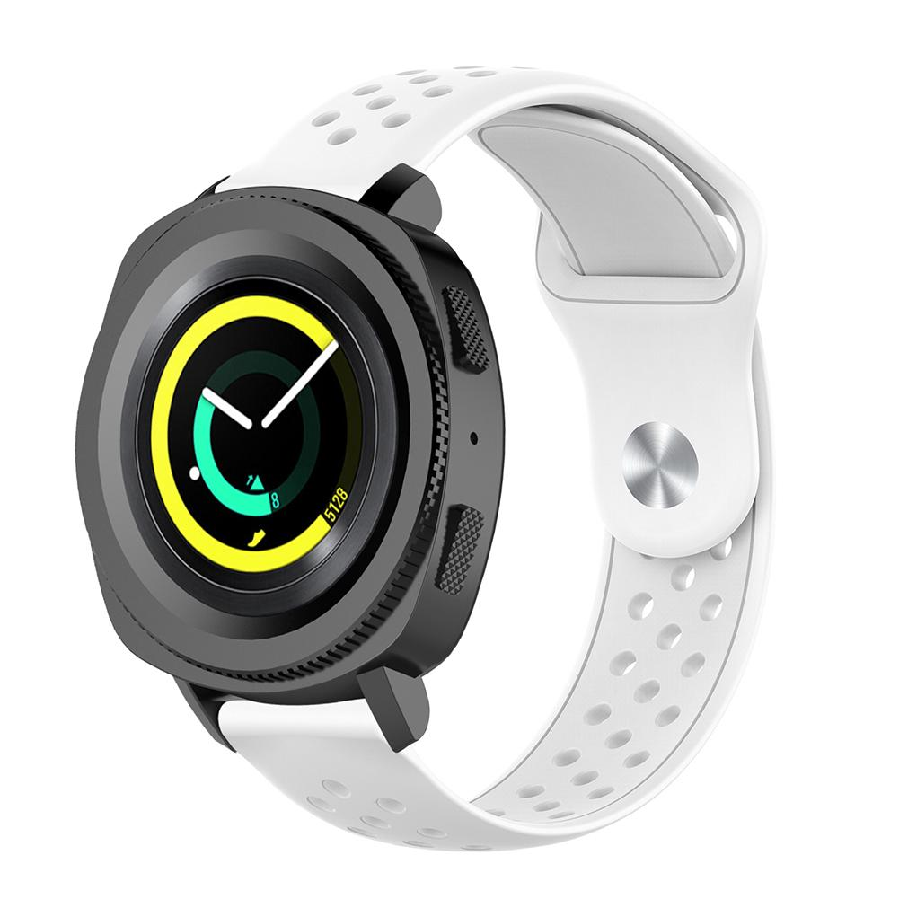 Sports Silicone Breathable Watch Band Universal 20MM Wrist Strap For Samsung Gear Sport R600 Gear S2 Classic in Smart Accessories from Consumer Electronics