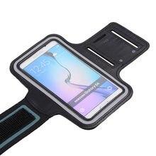 Спортивные водонепроницаемые нарукавники для бега для iphone 6s Plus, нейлоновый чехол, нарукавник для Apple 6, 7 Plus, samsung, S7 Edge, чехлы для телефонов