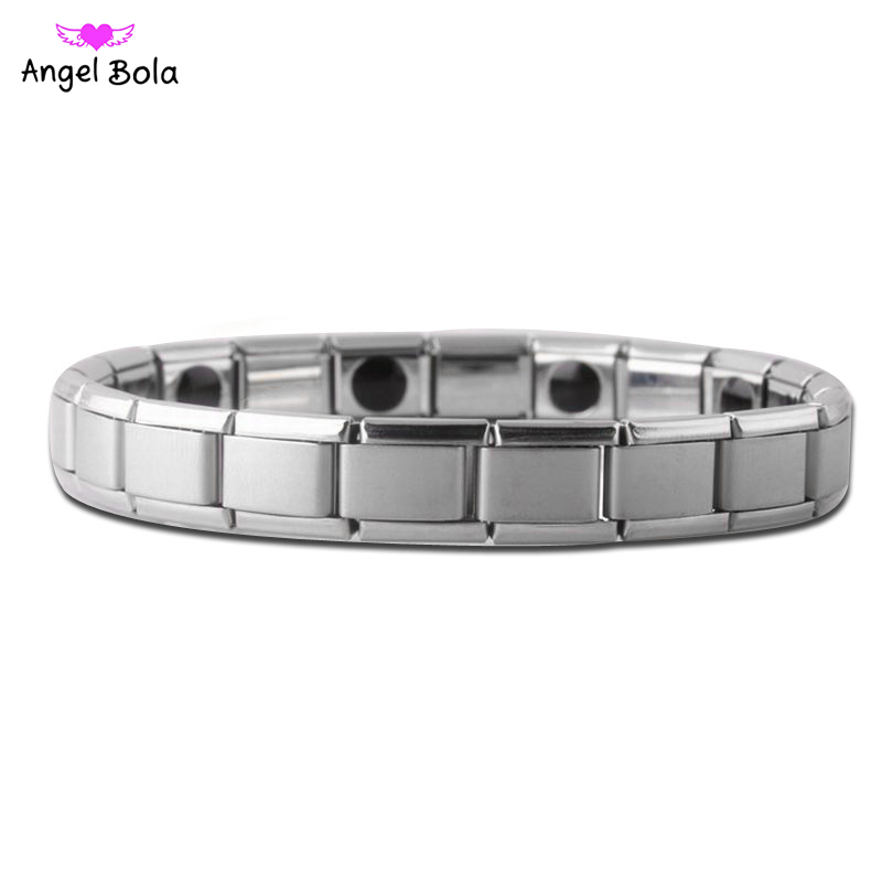 Tourmaline Energy Balance Bracelet Tourmaline Bracelet Health Care Jewelry for Men Women Germanium Magnetic Bracelets & Bangle