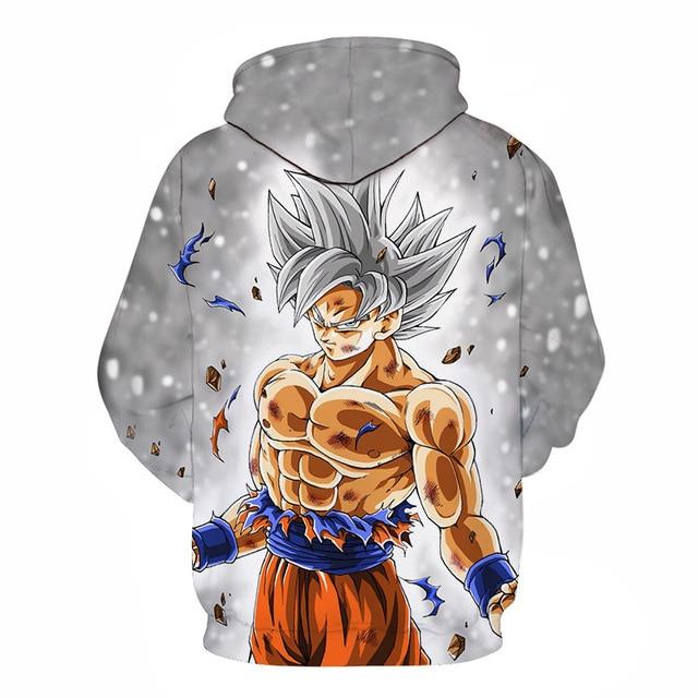 Cartoon hoodie seven Dragon Ball Z pocket hooded sweatshirt  1