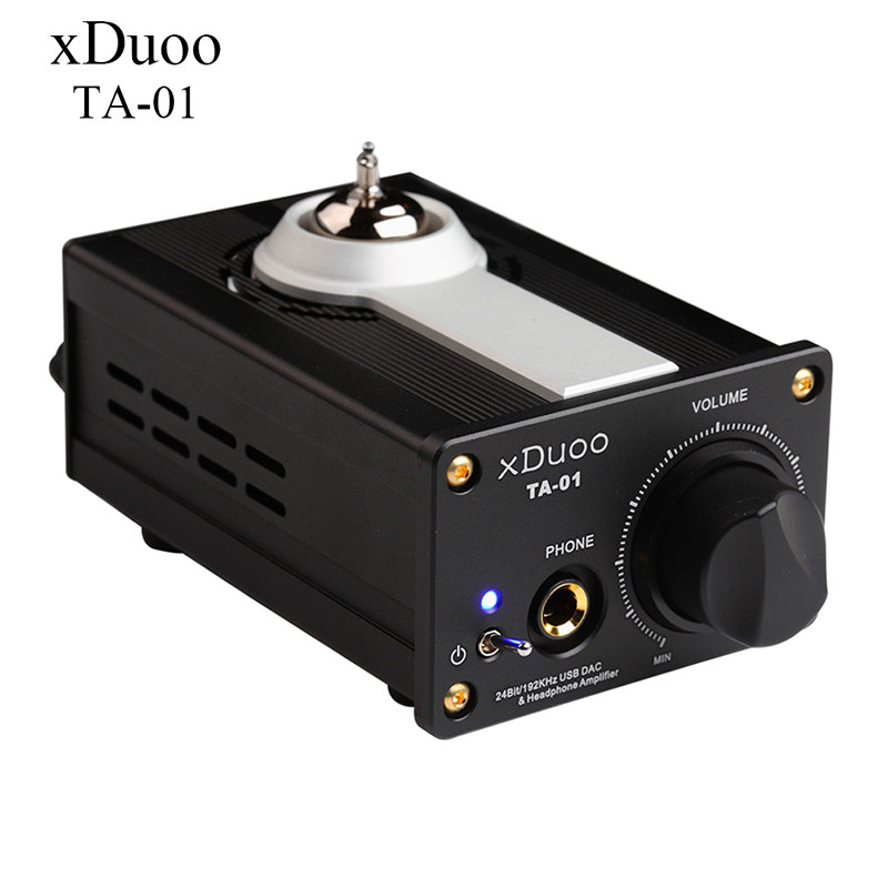 2016 New XDUOO TA-01 24Bit/192Khz HiFi USB DAC Professional Home Headphone Home Amplifier Flac USB DAC Tube AMP DC12V Adapter queenway airs digital car cd player change to home audio hifi professional amplifie hifi car home amp b