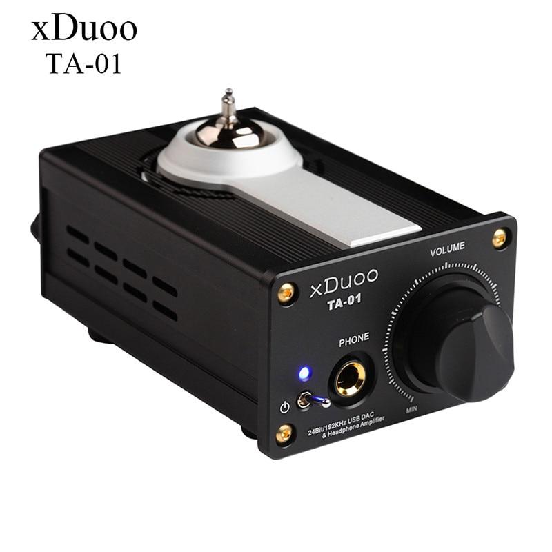 2016 New XDUOO TA-01 24Bit/192Khz HiFi USB DAC Professional Home Headphone Home Amplifier Flac USB DAC Tube AMP DC12V Adapter 2016 new xduoo ta 01 24bit 192khz hifi usb dac professional home headphone home amplifier flac usb dac tube amp dc12v adapter