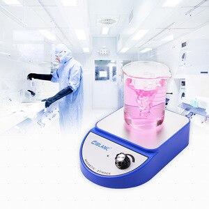 Image 2 - Mezclador magnético de química para laboratorio mezclador agitador magnético, placa caliente, 3500rpm, potencia máxima de agitación