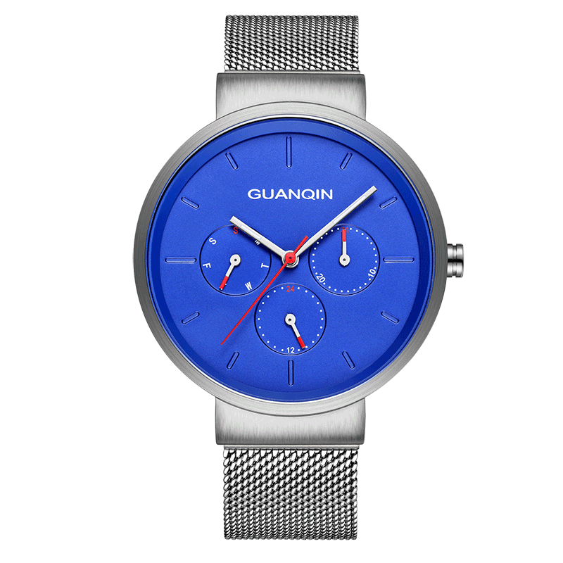 GUANQIN GS19103 watches men luxury brand Mens watch simple fashion trend leisure ultra-thin waterproof three-eye watchGUANQIN GS19103 watches men luxury brand Mens watch simple fashion trend leisure ultra-thin waterproof three-eye watch