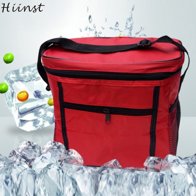 Hot Sale 27*17*24 cm Portable Thermal Cooler Waterproof Insulated Picnic Bags for Women Kids Men Cooler Picnic Box
