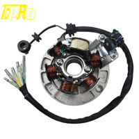 6 Poles Coils Magneto Stator For Lifan 140cc Pit Dirt Motor Bike Motorcycle