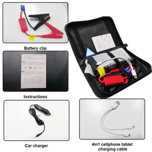 Image 2 - 16800mAh Portable Car Jump Starter Power Bank High Capacity Starting Device Booster 600A 12V Car Starter Battery Charger Booster