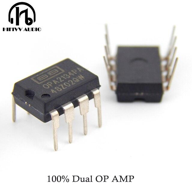 Hifivv الصوت OPA2134 مضخم التشغيل التصحيح مضخم التشغيل OPA2134PA ايفي الصوت IC رقاقة المرجع أمبير