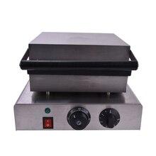 1 ШТ. 220 В электрический из нержавеющей стали коммерческих домашнего использования рыба лолли вафель машина кухонная техника