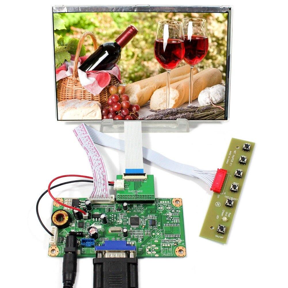 VGA LCD Controller Board 7inch 1280x800 HSD070PWW1-C00 IPS Sunshine Visible LCD Screen