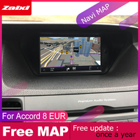 ZaiXi Car Android Multimedia For Honda Accord 8 EUR 2008~2013 GPS Navigation Android auto Carplay Radio Mirror link Radio WiFi