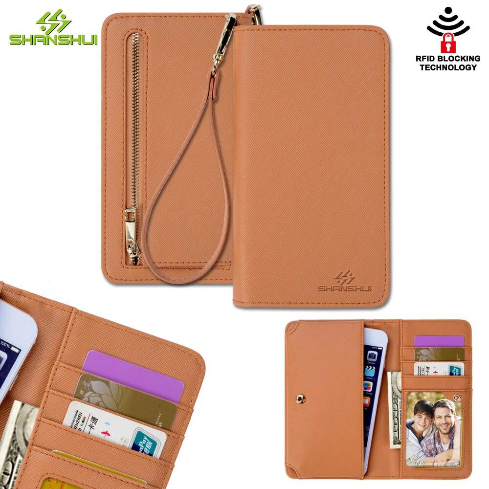 Роскошные Для женщин бумажник телефон сумка кожаный чехол для iPhone 6 плюс <font><b>7</b></font> SAMSUNG S7 S8 XIAOMI mi5 mi6 HUAWEI P8 p9 lite p10 Кошелек Сумочка