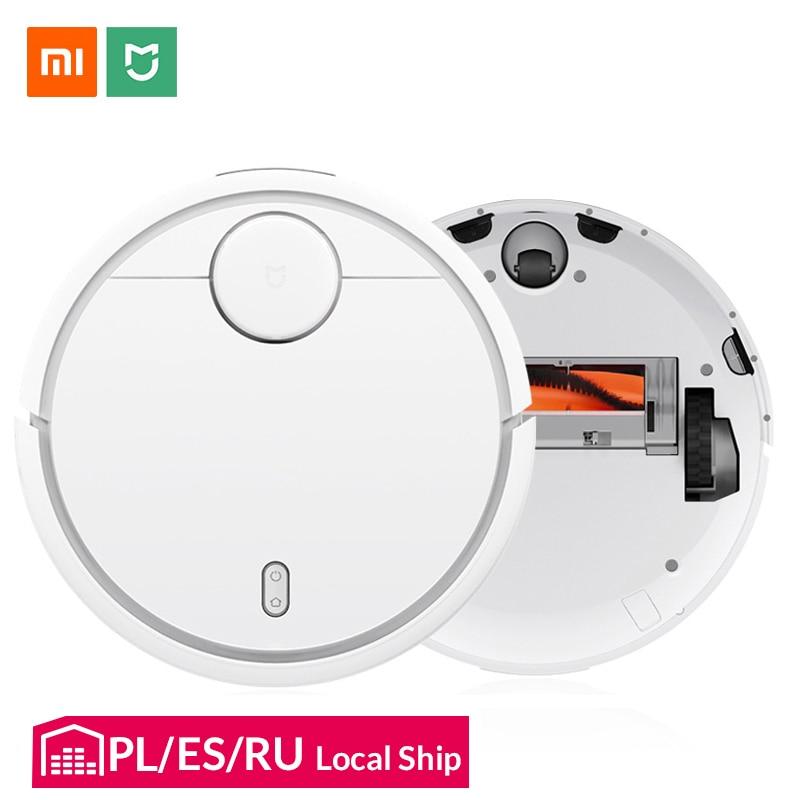 Original Xiao mi mi Robot Vacuum Cleaner para Casa Inteligente Automático Varrendo Planejado Wifi mi jia Controle APP Poeira Esterilizar mais limpo