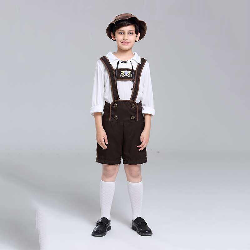 Costume kids Make up Clothing for Children's Day , Oktoberfest or Halloween National Alpine Costumes Stage Costumes