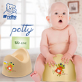 Rotho Babydesign 2017 Baby Potty Training Toilet Plastic Non-slip children Urinal Cartoon Toilet Pot For Infant Toilet Trainer