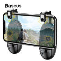 Baseus Pubg Controller Mobile Trigger for iPhone XR L1 R1 Shooter Controller Fire Button Gameped Joystick for Android Phone
