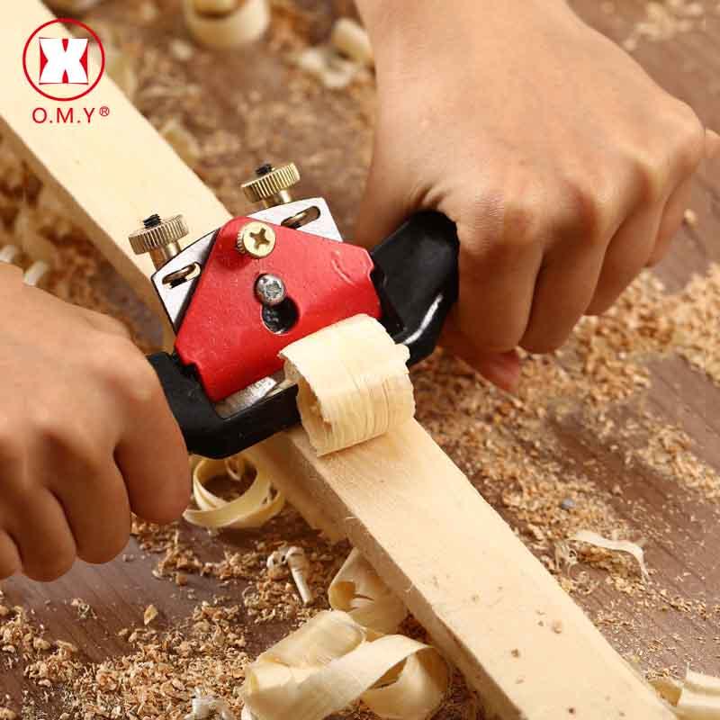 O.M.Y Ajustável Mão Carpintaria Plaina 9