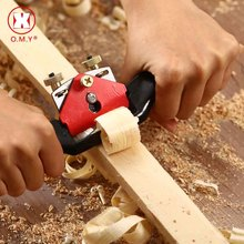 O.M.Y Adjustable Woodworking Hand Planer 9/210mm Screw Shave Wood Cutting Edge For Carpenter Manual Tools