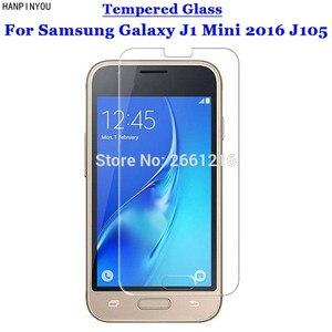 """J1 мини J105 закаленное Стекло 9 H 2.5D Премиум Экран протектор Плёнки для Samsung Galaxy J1 Mini (2016) j105 4.0"""""""