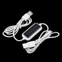 480 Mb/s USB 2.0 Ordinateur Portable PC À PC Online Data Lien Câble de Transfert De Fichiers Pont Drop Shipping