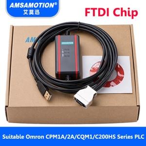 Image 3 - USB CIF02 Download Kabel Geeignet Für Omron CPM1A/2A Serie PLC Programmierung Kabel Verbesserte CQM1 CIF02 USB Port