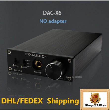 FX AUDIO DAC X6 HiFi 2.0 Amplificatore Per Cuffie Digital Audio Decoder DAC  Ingresso USB Coassiale Ottica RCA Uscita 24Bit 192 KHz DC12V in FX-AUDIO DAC -X6 ... 086adee67c44
