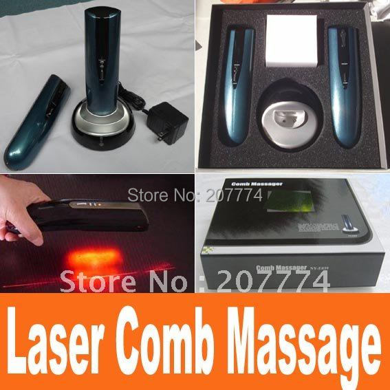 Restoration head hair Hair growth treatment Comb brush Kit products laser Hair Care Treatment Hairmax Laser Hair comb massage