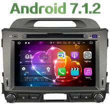 Android 7.1.2 8″ Quad-Core 2GB RAM 3G 4G WIFI DAB+ SWC BT Car DVD Multimedia Player Radio Stereo For Kia Sportage R 2010-2015