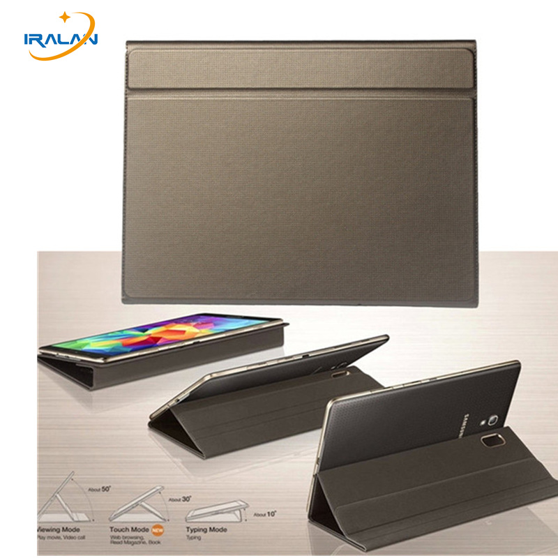 Hot 1 1 Ultra thin Smart Folding PU Leather Cover For Samsung Galaxy Tab S 10