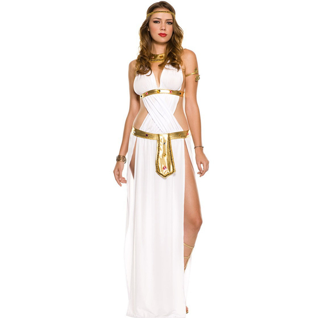 c9089d95bfb2 Arab and India Girl Costumes Greek God of Love Goddess Venus Queen  Cleopatra Costume Egypt Women Girls Cosplay Clothes