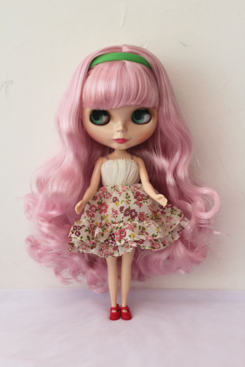 Free Shipping big discount RBL-153DIY Nude Blyth doll birthday gift for girl 4colour big eyes dolls with beautiful Hair cute toy free shipping big discount rbl 288diy nude blyth doll birthday gift for girl 4colour big eyes dolls with beautiful hair cute toy