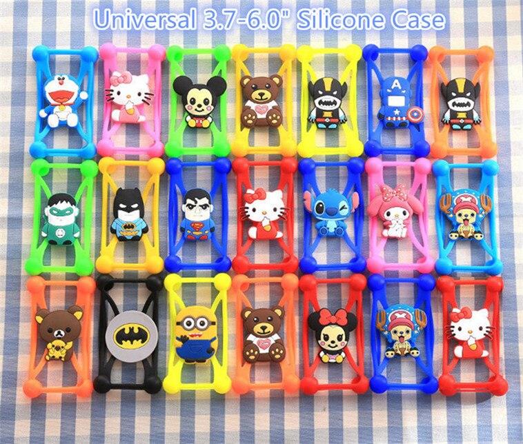 New Hot Minions Stitch Batman Cat Soft Silicon Phone Back Cover Phone Case For Sencor Element P400 P403 P452 P501 P502 P5502