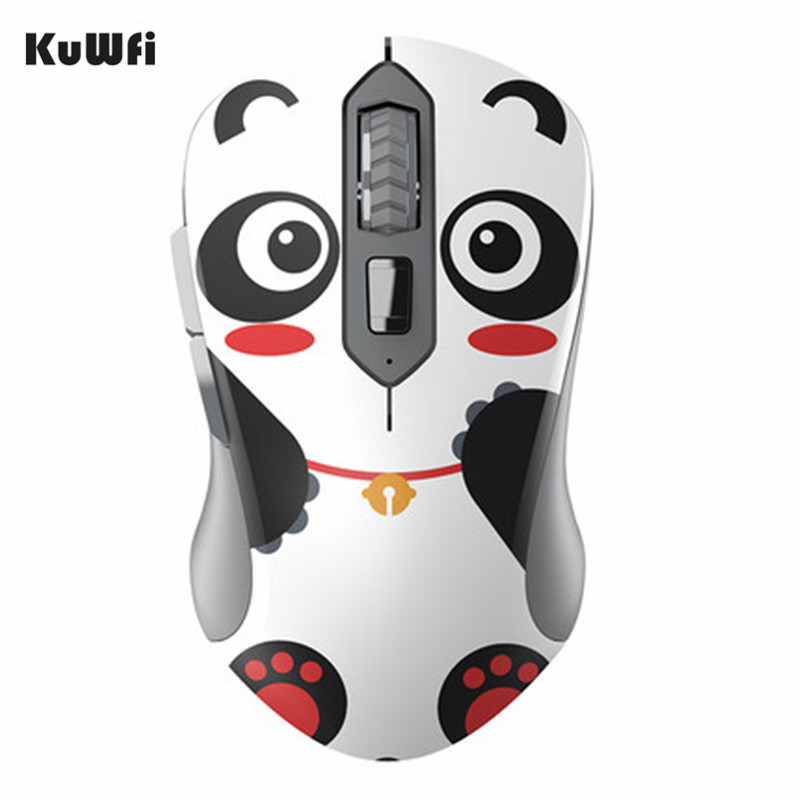2.4GHz Wireless Mouse Animal Monkey Panda USB Optical Ergonomic Silent Gaming Mouse 1600DPI 6 Buttons For Gift PC Tablet Laptop sunsonny t m30 usb wired 6 button 600 1000 1600dpi adjustable led gaming mouse golden red