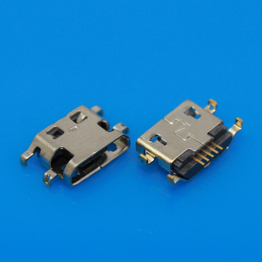 JCD 30PCS Micro USB Charging Port Connector For Lenovo A708t S890 For Alcatel 7040N For HuaWei G7 G7-TL00