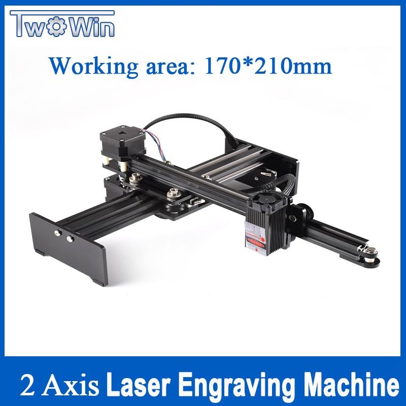 5500mw défonceuse numérique de bureau USB Laser graveur Laser coupeur automatique ordinateur bricolage Laser gravure Machine sculpture Machine 17*21cm