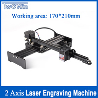 5500mw Desktop CNC Router USB Laser Engraver Laser Cutter Automatic Computer DIY Laser Engraving Machine Carving Machine 17*21cm