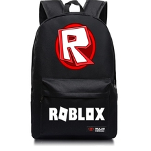 Hot Game Roblox Student School Bags Fashion Teenagers Backpack