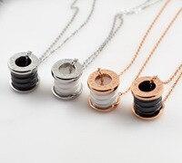 Titanium Ceramic Necklace Europe And America Men Best Gift BVL Rome Digital