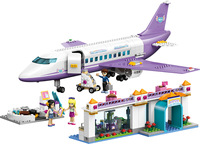 In Stock Friend Girls Building Blocks Toys City Plane Airport Model Girls DIY Toys Gifts Compatible LegoINGlys 41109